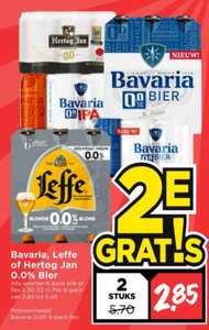 Veel 0% bier 2e gratis bij Vomar