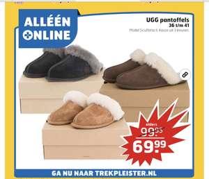 UGG pantoffels aanbieding
