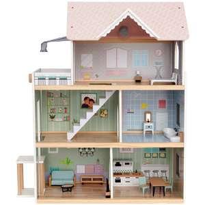 [V.a. wo] Mini Matters Houten Poppenhuis van €49,95 naar €39,95 @ Action
