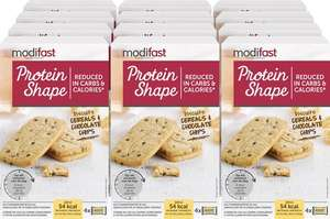 Modifast Protein Shape Biscuits cereals and chocolate chips 12x200g @ Bol.com
