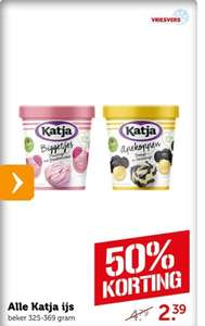 Katja ijs, 50% korting #musttry
