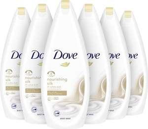 Dove Douchecrème Nourishing Silk 6x 750 ml