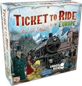 Ticket to Ride Europe (en nog veel meer)