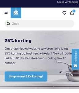 BK kortingscode voor 25% korting op veel artikelen