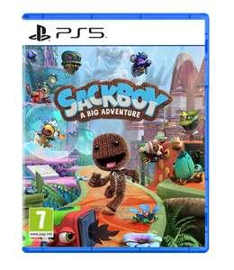 Sackboy A Big Adventure PS4 & PS5 50% korting