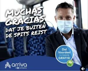 [Limburg] Nu tijdelijk gratis Dal Voordeel @ Arriva