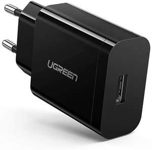 UGREEN USB Oplader 18W Quick Charge 3.0 voor €8,99 @ Amazon NL