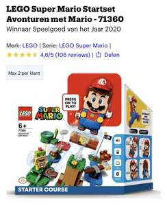 LEGO Super Mario Startset Avonturen met Mario - 71360