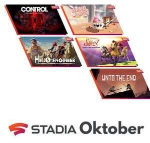 [Stadia Pro] Stadia Pro Games - Oktober 2021