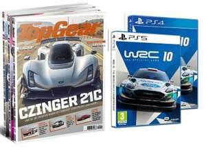 6x TopGear voor € 49 + de game WRC 10 voor PlayStation 4 of 5