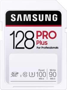 Samsung PRO Plus 128GB SDXC geheugenkaart (Amazon.nl)