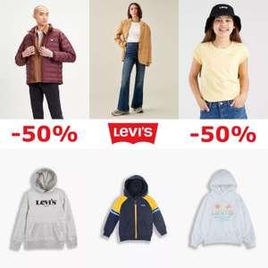 Krijg 50% korting [bij membership] @ Levi's