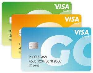 ICS Go Creditcard ( nieuw) €1,80 per maand