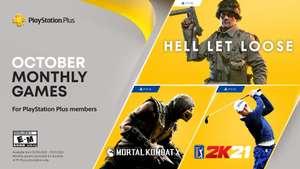 Gratis PlayStation Plus games van Oktober 2021 @PSstore
