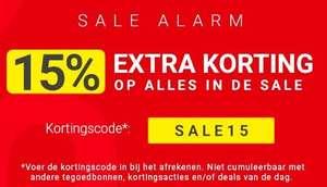 15% EXTRA korting op de sale (tot 83%) @ Tennis-point