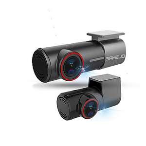 Sameuo U700 Dual Full-HD (1080P + 480P) Wifi dashcam voor €42,55 @ Light in the Box