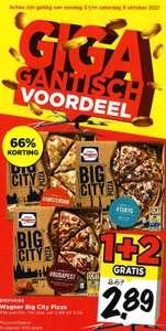 Wagner Big City Pizza 1+2 gratis.
