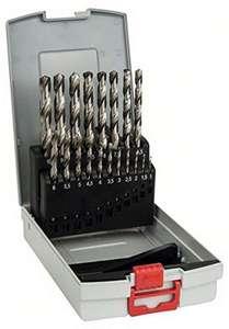 Bosch professional 19 delige HSS-G metaalboren set
