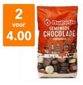 Bolletje gechocolateerde kruidnoten/pepernoten