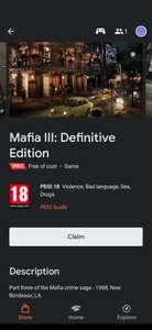[Stadia Pro] Mafia 3 Definitive Edition extra Pro game deze maand!