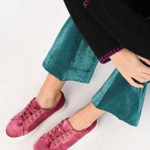 Superga Velvet Chenille sneakers