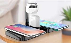 4-in-1 draadloos oplaadstation voor smartphones (groupon)