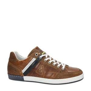 Gaastra willis leren sneakers cognac (maat 41,43, 45)