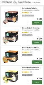 Dolce Gusto Verschillende Starbucks capsules