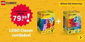 Intertoys - LEGO Classic Combi DEAL 11011 + 11016