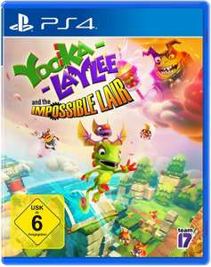 Yooka-Laylee and the Impossibe Lair (Sony PS4) @Amazon