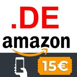 €15 korting bij min. €30 - 1ste keer inloggen app @ Amazon DE