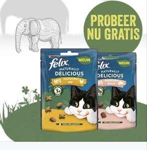 Gratis katten snack (Felix naturally delicious)