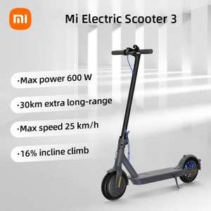Xiaomi Mi Electric Scooter 3 voor €380 @ Gshopper