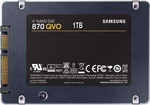 Samsung 870 QVO 1TB SSD @Amazon