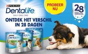 (CASHBACK) Gratis 28 Sticks Purina Dentalife Hond t.w.v. maximaal €11,97