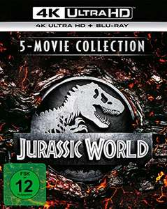 Jurassic World - 5-Movie Collection 4K Ultra HD (Duitse uitgave)