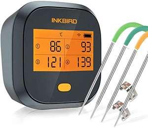 [Lightning Deal] Inkbird WLAN IBBQ-4T BBQ-/Grillthermometer