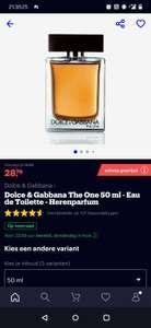 Dolce & Gabbana The One (50 ml) - Eau de Toilette - Herenparfum