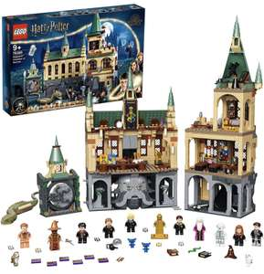 LEGO 76389 Harry Potter The Secret Chamber of Hogwarts Building Set with the Grand Hall, 20-Year Anniversary Set with Golden Doll