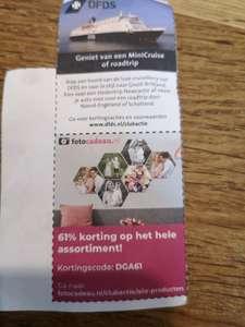 Clubactie korting op fotocadeaus.nl