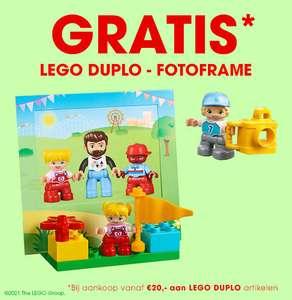 Gratis zakje DUPLO Photo Frame 40269 bij een minimale besteding van €20 wan DUPLO