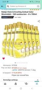 Zwitsal klein & krachtig wasmiddel 8 flessen