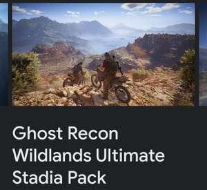 Gratis Ghost Recon Wildlands Ultimate Stadia Pack (Season Pass, Year 2 Pass en Deluxe Pack)