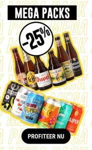 Pakketten met 24 flesjes speciaalbier voor €29,95 @ Hopt