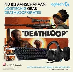 Ontvang tijdelijk de game Deathloop (PC & PS5) gratis bij aanschaf van geselecteerde Logitech G actieproducten