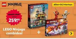 Intertoys : Lego Combi deal : Ninjago stadstuinen 71741 en Ninjago Kais vuurdraak 71753