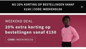 Otrium dit weekend 20% korting vanaf 150 euro in de app