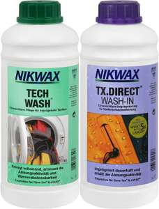 NIKWAX 2x1L: synthetische stof opnieuw waterproof