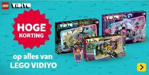 Ruim 50% korting op LEGO Vidiyo assortiment