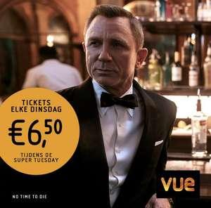 Op dinsdag elke film €6,50 (inclusief €1,50 3D toeslag) @ Vue
